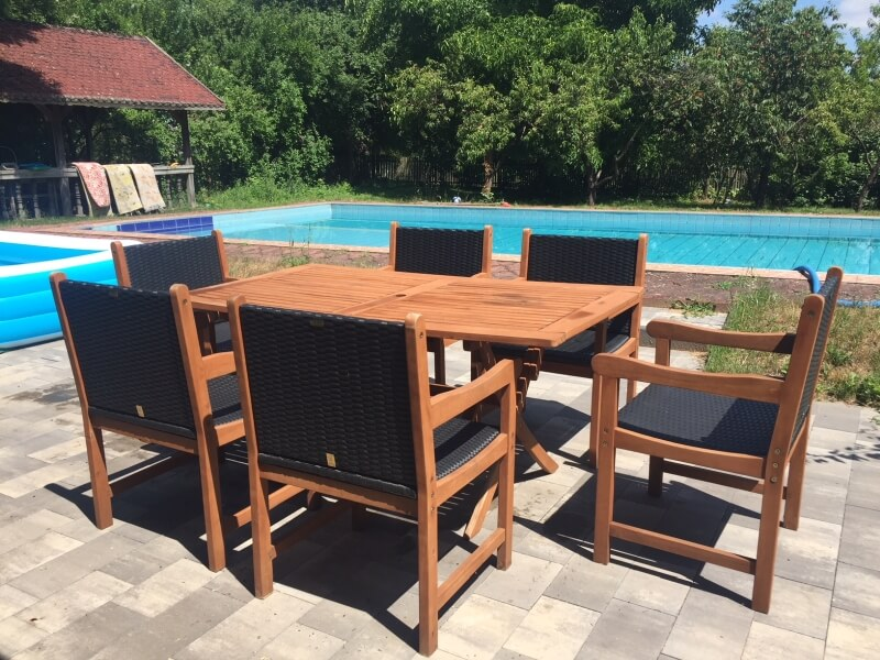zestaw ogrodowy stol fotele