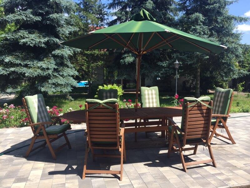 zestaw mebli ogrodowych do ogrodu