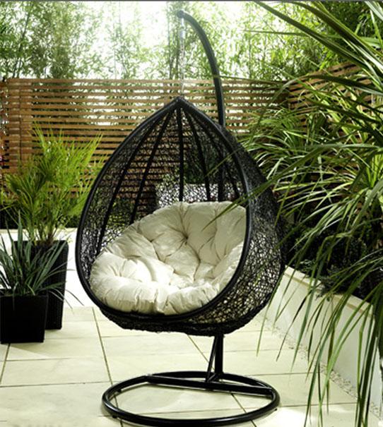 nowoczesny hamak ogrodowy