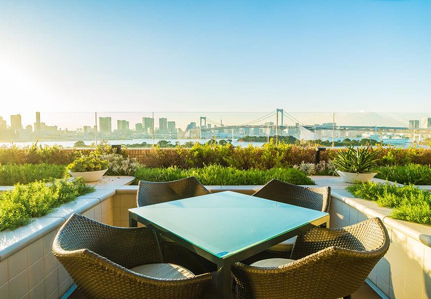 piękne nowoczesne meble ogrodowe z technorattanu