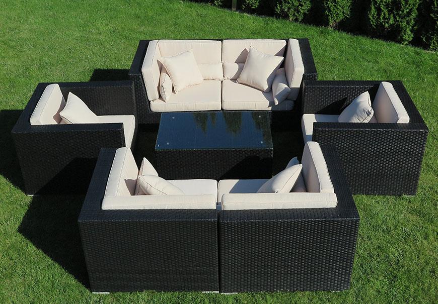 meble ogrodowe modułowe