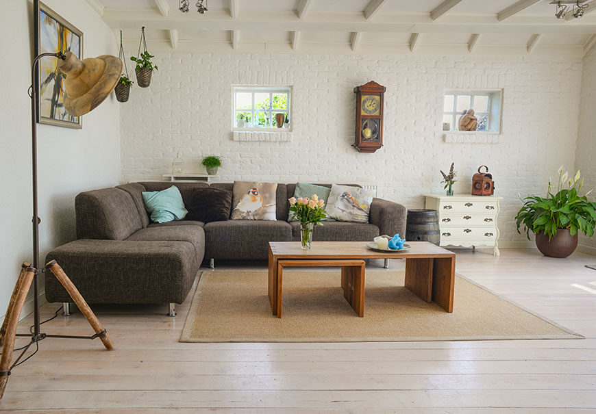 meble ogrodowe w mieszkaniu