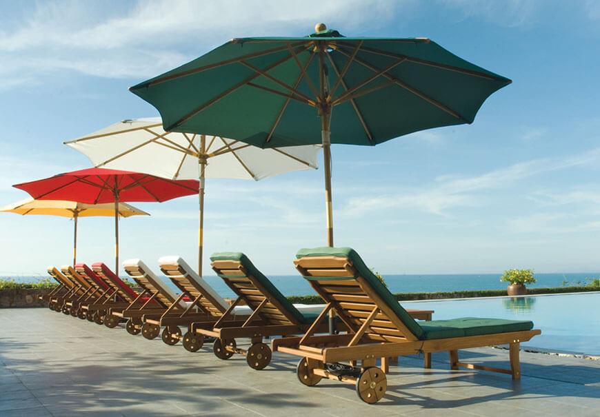 nowoczesne parasole ogrodowe