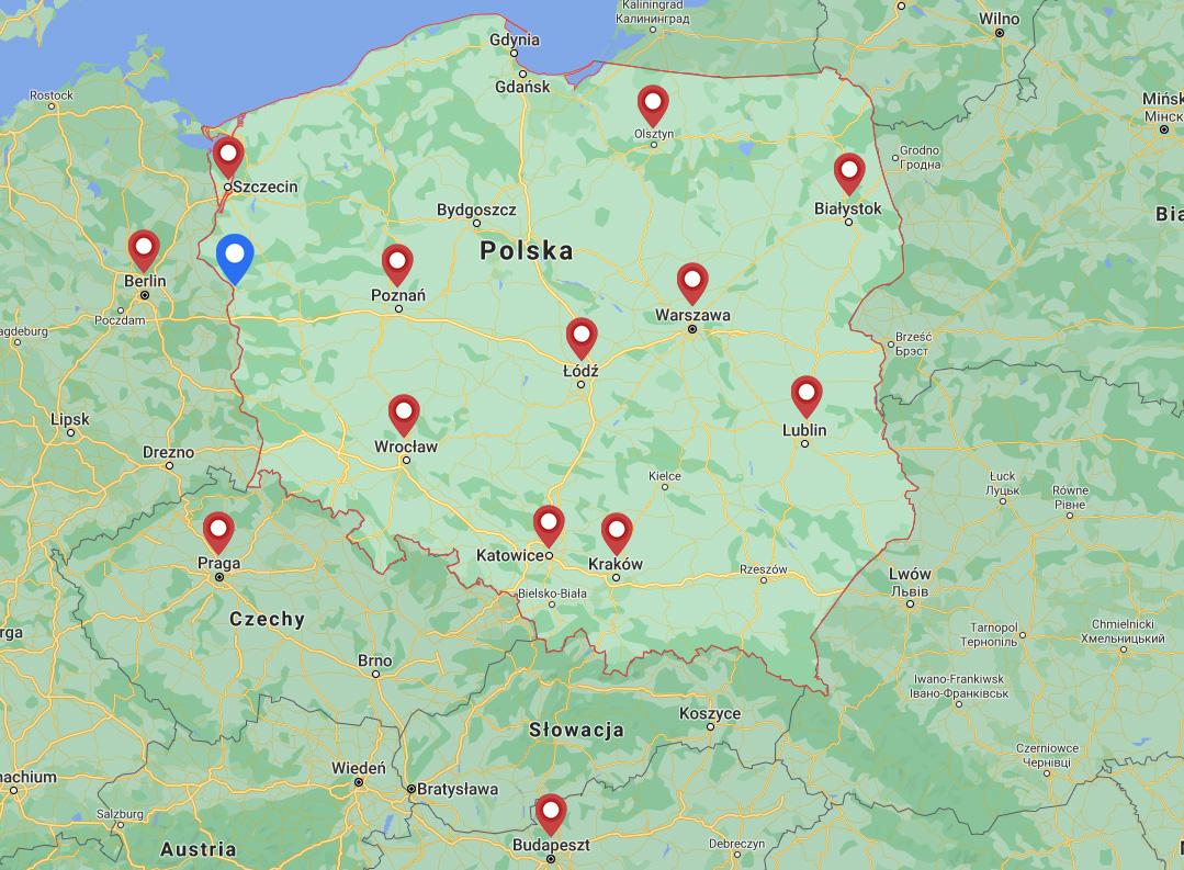 mapa sklepów